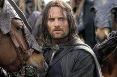 """Película: """"El Señor de los Anillos"""". Personaje: Aragorn, Viggo Mortensen."""