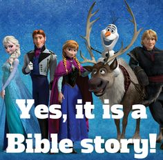 Its time for a different kind of Christian Movie Review! Check out Sharing God's Story with Disney's Frozen and learn what a movie can teach you about God and his Word!
