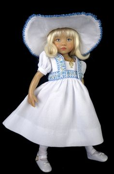 Dress, Jacket fts Effner 13, Little Darling. Betsy McCall. Little Charmers Doll www.LittleCharmersDollDesigns.com