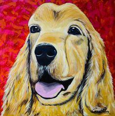 COCKER DOG - ART PET - CAROL WANG  https://www.facebook.com/carolinawangpage