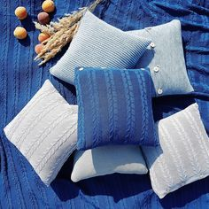 cozy #ocean color #cushions