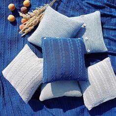 cozy #ocean color #cushions