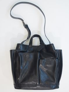 BEAU DESSIN LEATHER TOTE
