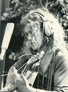 "waywaydowninside: ""Robert Plant, 1972. """
