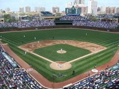 Wrigley Field, home of the Cubbies!