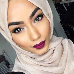 sabinahannan Lip Makeup, Beauty Makeup, Makeup Stuff, Pretty Makeup, Makeup Looks, Sabina Hannan, Turkish Beauty, Lip Colour, Makeup For Brown Eyes