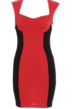 www.ustrendy.com, Color Block Dress,  Dress, Open Back Dress, Chic
