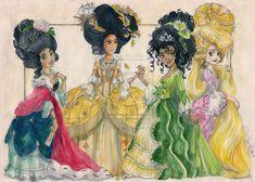 Rococo Princesses part III by TaijaVigilia on deviantART