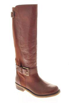Lucky Brand Jeans Buckle Womens Knee-High Boots Brown Medium BHFO ebay