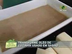 Sabão caseiro com óleo usado - Arteblog