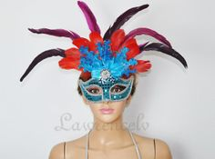 Venetian Mardi Gras Masquerade Costume Party blue by lawrencelv, $17.99 My Big Day approved!