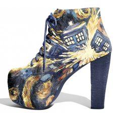 GEEK Style: DOCTOR WHO Heels x Lonely Soles Tumblr | CulturSHOCK