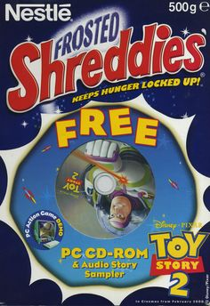 Frosted Shreddies ©1998 Société des Produits Nestlé S.A. UK