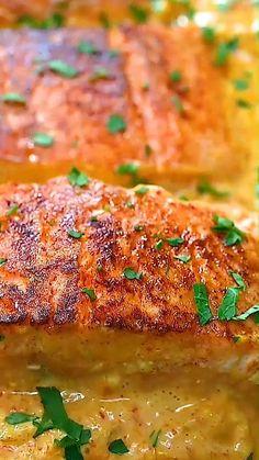 Salmon Recipes, Fish Recipes, Seafood Recipes, Great Recipes, Dinner Recipes, Cooking Recipes, Favorite Recipes, Salmon Dishes, Fish Dishes
