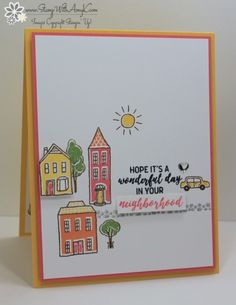 Stampin' Up! CAS In the City – Stamp With Amy K