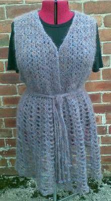 Heidi's Crochet Scrapbook / Ballerina Waistcoat Cuckoo