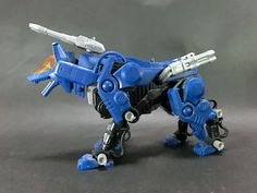 TOMY ZOIDS Blue Command Wolf built model kit Action Figure Takara Kotobukiya #TOMY
