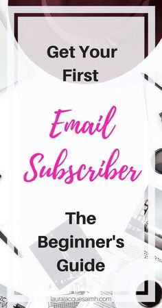 Want to start an email list? Not sure how? I show you how to get your first email subscriber! No fluff, just the info you need to convert readers into subscribers! Grab your free welcome email template to make sure you're making the right first impression