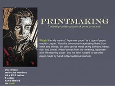 awesome PowerPoint about printmaking, also leads to other PowerPoints and lesson plans
