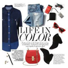 """""""Life in color"""" by punnky ❤ liked on Polyvore featuring Gap and Bobbi Brown Cosmetics"""