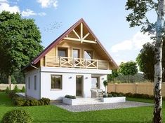 House Construction Plan, Ethnic Home Decor, Favorite Paint Colors, Bamboo Design, Dream House Plans, Cottage Homes, House Rooms, Tiny House, Beautiful Homes