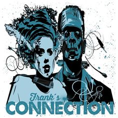 New connections for a reinterpretation of a modern Frankenstein and his mate. T Shirt Designs, Grunge, Connection, Joker, Movies, Movie Posters, Fictional Characters, Art, Art Background