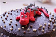 gateau au yaourt - sweet table dragon