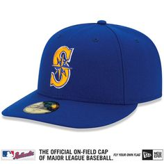 6e6e9159dd13d Men s Seattle Mariners New Era Royal Blue Low Profile Alternate 2 59FIFTY Fitted  Hat