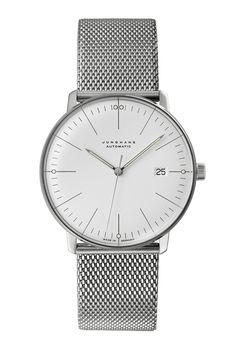 Junghans - Max Bill Automatic / at Mr. Porter - http://www.mrporter.com/product/327394 - €1,380.79