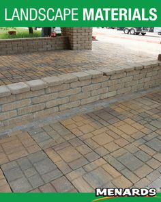 The EZ slate patio block is a beautiful slate surface that is available in square patio blocks. Use this natural looking design to add some style to your backyard while ensuring that the installation is a quick and easy process. Patio Blocks, Slate Patio, Landscape Materials, Landscaping, Surface, Sidewalk, Backyard, Natural, Easy