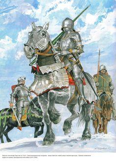 Knights of the Teutonic Order by Marek Szyszko