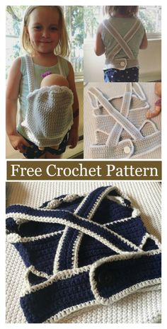 Baby Doll Carrier Free Crochet Pattern #freecrochetpatterns #toy