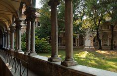 San Vitale cloister. Photo by Colin Barschel [ #ravenna #myRavenna]