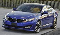 Our new car...Kia Optima turbo, panoramic sunroof, and all the bells and whistles.  :D  Plus the rare blue color.