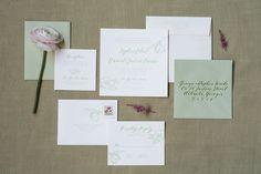 "Beautiful font - ""The Garden - Invitation Suite"""