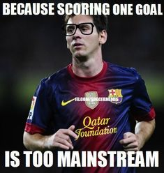 Messi rompiendo records. To mainstream