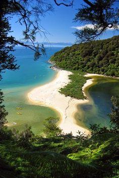 Abel Tasman National Park  | 5 Best Places to Visit in New Zealand