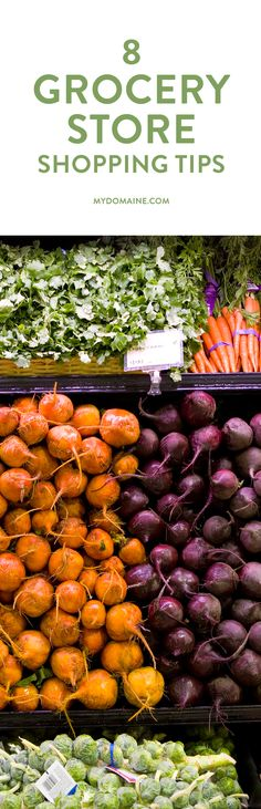 Navigate the grocery store like a pro with this shopping guide
