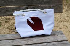 Sail Bag Handbag Lobster Nautical Totes Tote Sea Purse Bag Harbor Bags