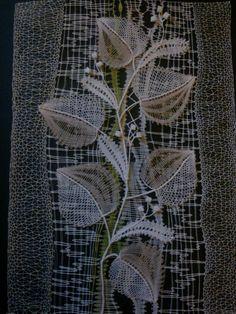 Light and airy Bobbin Lacemaking, Types Of Lace, Lace Art, Bobbin Lace Patterns, Lace Jewelry, Needle Lace, Lace Making, Lace Flowers, Fabric Art