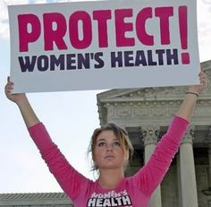 I cannot believe Women's Health/ Rights are still being targeted.