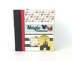 Disney Scrapbook Album Kit or Premade by ArtsyAlbums on Etsy ... Purchase in our Etsy shop at www.artsyalbums.etsy.com
