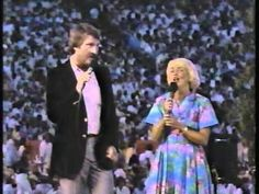 "Evie Tornquist Karlsson and her husband Pelle sing ""United We Stand"" On ..."