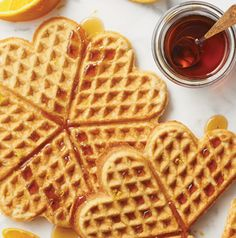 Gluten-free AND dairy-free waffles? It's not too good to be true. These Almond-Orange Waffles are bound to be an instant classic in your house.