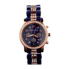 Perfect Michael Kors Chronograph Navy Watches, Perfect You