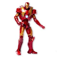 Iron man figures by hasbro™.  Act out your favorite scenes from iron man 2 with these action figures.