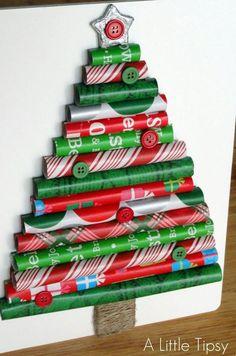 13 SIMPLE CHRISTMAS TREE CRAFTS