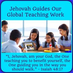 "Jehovah Guides Our Global Teaching Work - What has happened in recent times that has allowed Jehovah's servants to preach the good news effectively earth wide?♥•.¸¸.•♥  JW.org > Publications >Magazines > THE WATCHTOWER (STUDY EDITION) February 2015, ""Jehovah Guides Our Global Teaching Work."" JW.org also has the Bible and bible based study aids to read, watch, listen and download in 700+ (sign included) languages. They also offer free in home bible studies.  All at no charge. Plus now…"