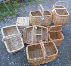 cane shopping and picnic baskets $40 - $60  www.heathsoldwares.com.au Heaths Old Wares, Collectables Antiques and Industrial Antiques. 19-21 Broadway, Burringbar NSW Open 7 days 9am - 5pm phone 0266771181 Letter To My Love, Picnic Baskets, Broadway, Tables, Industrial, Street, Antiques, Phone, Shopping