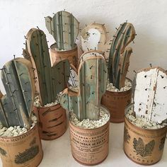 65 Gorgeous DIY Decoration Ideas & Video Tutorials is part of diy home decor Easy Simple - We love you DIY projects! It's a pleasure to help you with this! We have prepared 65 Gorgeous DIY Decoration Project Video Tutorials just for you guys! Upcycled Crafts, Diy Crafts, Crafts Home, Creative Crafts, Art Diy, Cactus Decor, Cactus Cactus, Cactus Craft, Indoor Cactus